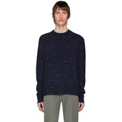 Blue Pilled Melange Sweater