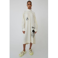 Acnestudios Loose dress ivory white