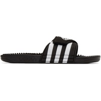 Black & White Adissage Sandals