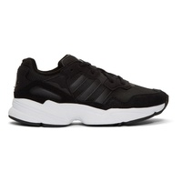 Adidas Originals Black & White Yung 96 Sneakers