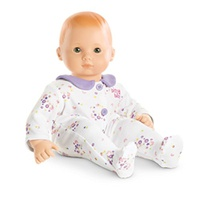 American Girl - Bitty Baby - White Floral Sleeper for Dolls
