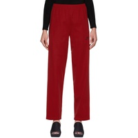 Red Tracksuit Lounge Pants