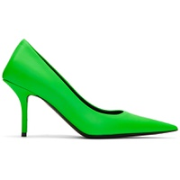 Green Square Knife Heels