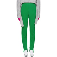 Green Sporty Stirrup Trousers