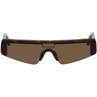 Brown Mask Sunglasses