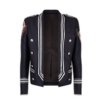 Balmain Patch Embroidered Jacket