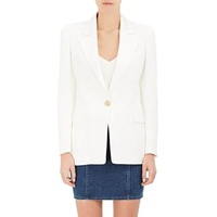 Balmain Elongated One-Button Jacket