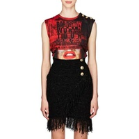 Balmain World Tour Jersey Tank