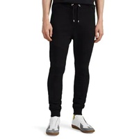 Balmain Cotton Terry Biker Sweatpants