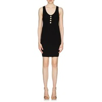 Balmain Button-Embellished Sleeveless Dress