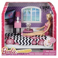 Barbie Doll and Bedroom Furniture Set