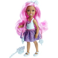 Barbie Endless Hair Kingdom Chelsea Doll, Blue