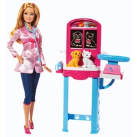 Barbie Careers Pet Vet Playset