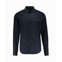 Blood Brother - Mist Small Collar Shirt - Navy