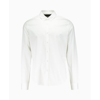 Blood Brother - Mist Small Collar Shirt - White