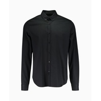 Blood Brother - Mist Small Collar Shirt - Black
