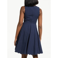 Boden Judith Cotton Dress, Navy