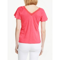 Boden Margie Jersey Top, Strawberry Split