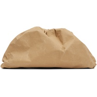 Beige Paper 'The Pouch' Clutch
