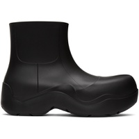 Black Matte 'The Puddle' Boots