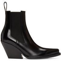 Black 'The Lean' Heeled Chelsea Boots
