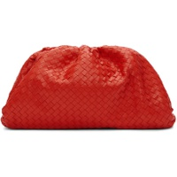 Bottega Veneta Red Intrecciato Clutch