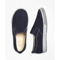 Brooksbrothers Boys Suede Sneakers