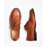 Brooksbrothers Boys Captoe Lace-Ups