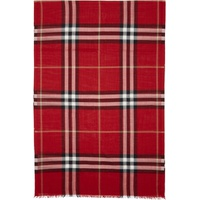 Red Giant Check Scarf