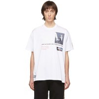 White Montage T-Shirt