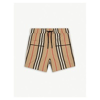 BURBERRY Striped cotton shorts 6-24 months