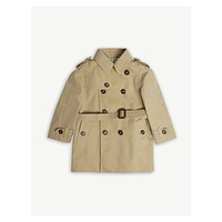 BURBERRY Wiltshere cotton trench coat 6-36 months