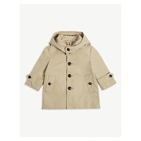 BURBERRY Bradley cotton trench coat 6 months - 2 years