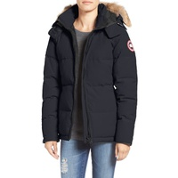 CANADA GOOSE Chelsea Slim Fit Down Parka with Genuine Coyote Fur Trim
