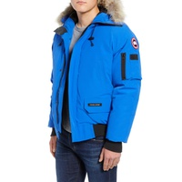 CANADA GOOSE PBI Chilliwack Down Bomber Jacket with Genuine Coyote Trim