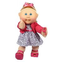 Cabbage Patch Kids 14 Kids - Blonde Hair/Blue Eye Girl Doll in Trendy Fashion