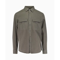 Calvin Klein - Gano Authentic Twill Shirt - Olive