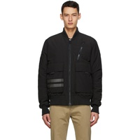 Black Down Kirkfield Bomber Jacket