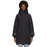 Navy Down 'Black Label' Bennett Parka