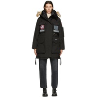 Black Down Snow Mantra Parka