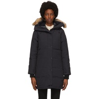 Navy Down 'Black Label' Shelburne Parka