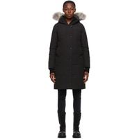 Black Down Sherbrooke Parka