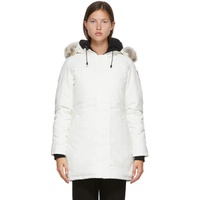 White Down Victoria Parka
