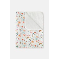 Weather Print Baby Quilted Blanket