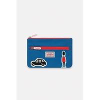 Kids Double Zip Pencil Case with Badges
