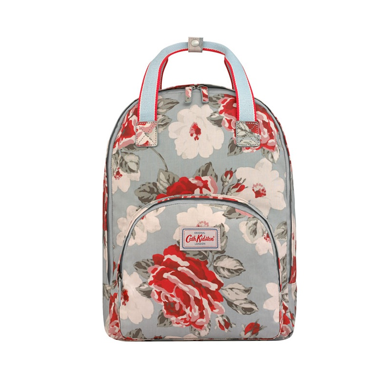 캐스키드슨 Cathkidston New Rose Bloom Multi Pocket Backpack