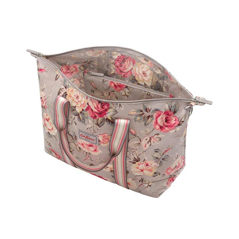 캐스키드슨 Cathkidston Garden Rose Foldaway Overnight Bag