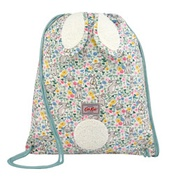 Cathkidston Bunny Meadow Kids Novelty Bunny Drawstring Bag