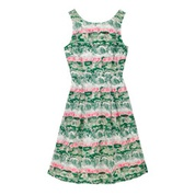 Cathkidston Birch Forest Sleeveless Cotton Cambric Dress