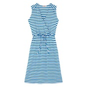 Cathkidston Stripe Jersey Pointelle Wrap Dress